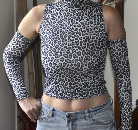 Annonce occasion, vente ou achat 'Sexy top leopard'