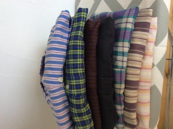Lot de 7 chemises