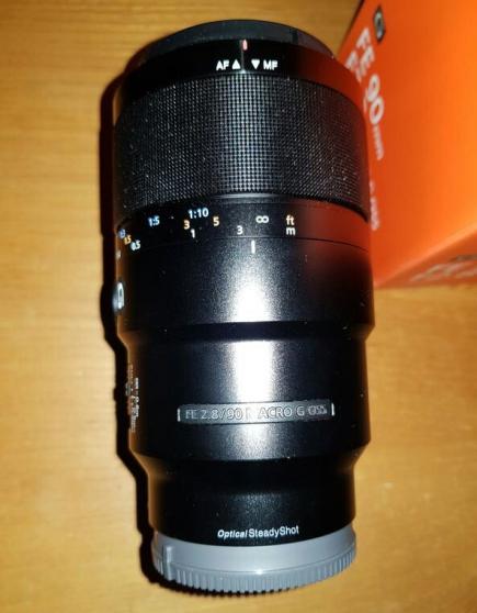 Objectif Sony FE 90 F2.8 G OSS macro
