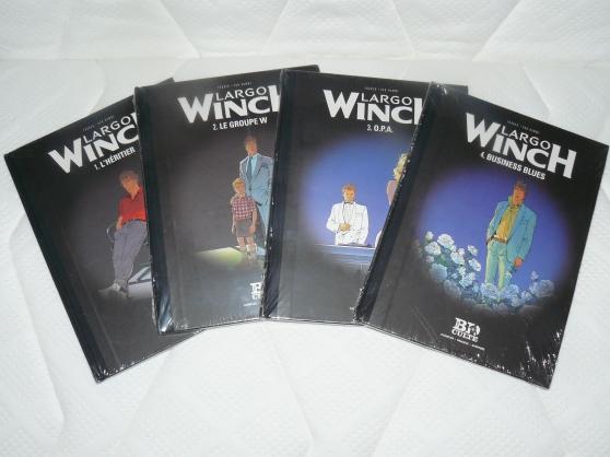 4 premiers albums BD LARGO WINCH neufs
