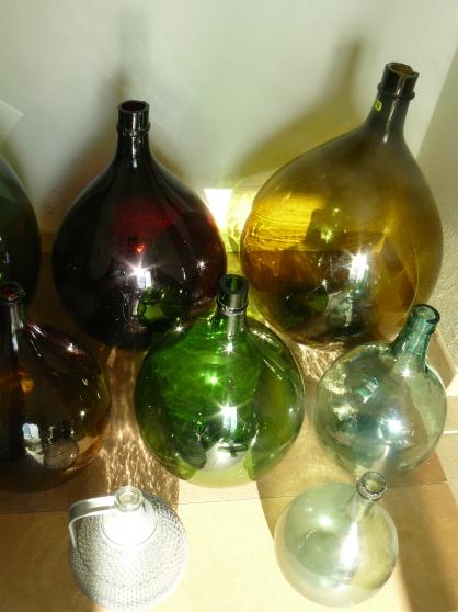 Annonce occasion, vente ou achat 'Bonbonnes verre ( dames jeanne )'