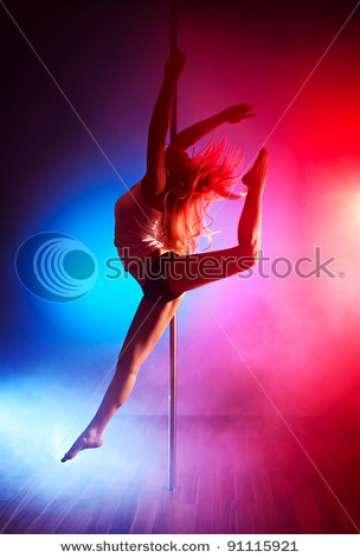 POLE FITNESS POLE DANCE
