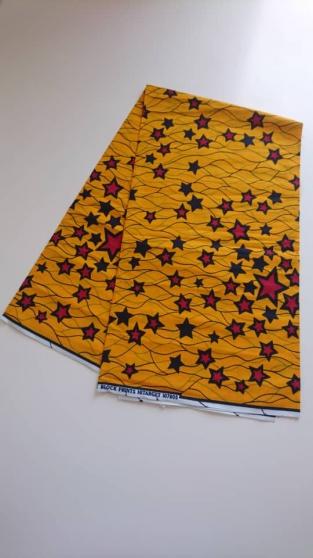 Tissu wax africain (le mètre) 7€