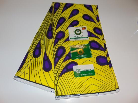Annonce occasion, vente ou achat 'Tissus wax africain (le mètre) 7€'