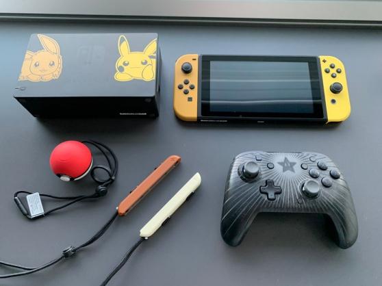 Annonce occasion, vente ou achat 'Nintendo Switch édition Pokemon'