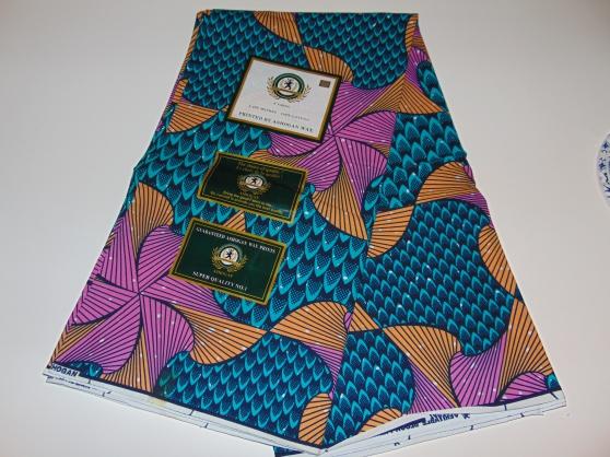 Annonce occasion, vente ou achat 'Tissu wax africain (les 3 mètres) 18€'