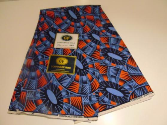 Tissu wax africain (les 3 mètres) 18€ - Photo 2