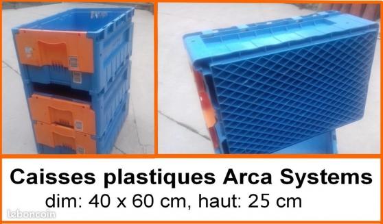 caisse plastique très solide qualité pro