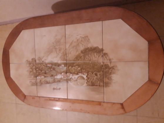 vend Table Basse bois brut