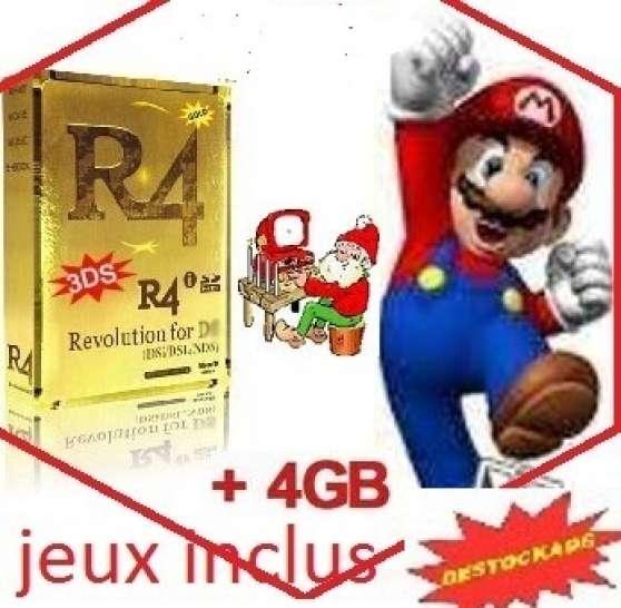 carte r4i gold original 110 ou 220 jeux