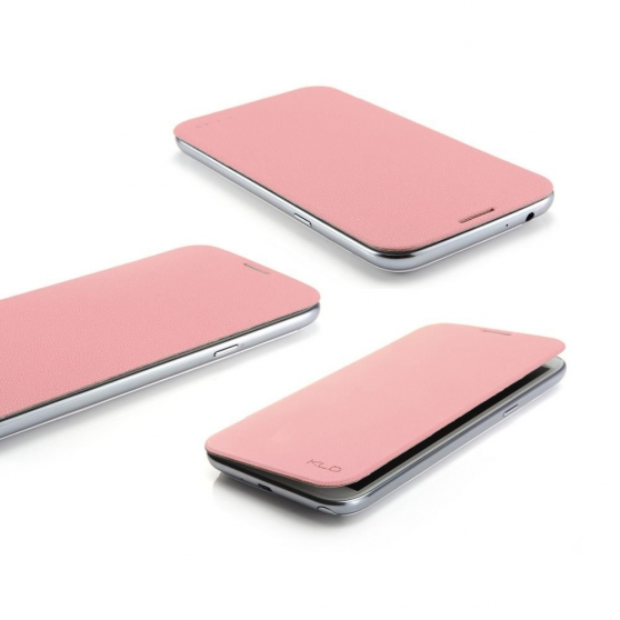 Etui Flip Cover Galaxy S3 Mini Rose