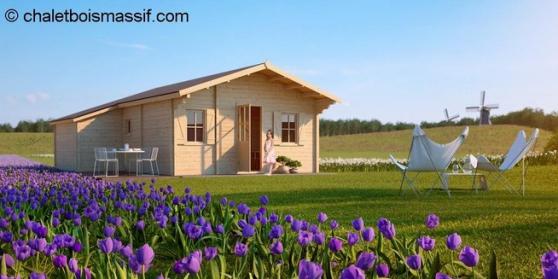 Vente chalet en kit 42m brignoles immobilier a vendre mobil home chalets - Chalet de jardin occasion a vendre ...