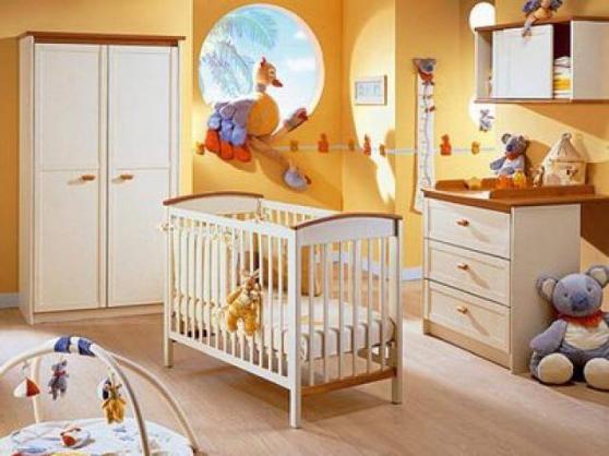 chambre caramel de autour de bébé meubles - dÉcoration lits d
