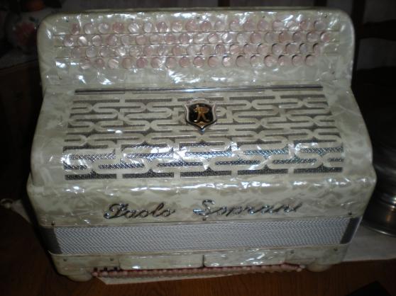 accordéon chromatique Paolo Soprani
