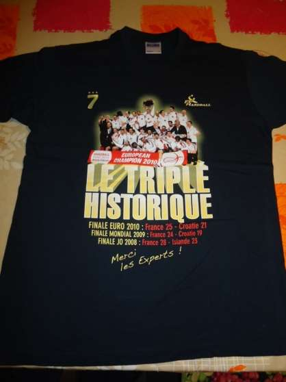 Maillot triplé Historique Handball - Photo 1