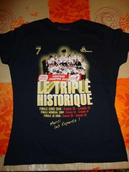 Maillot triplé Historique Handball - Photo 2