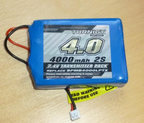 batterie lipo 7.4v – 4000 mah – 2s - Annonce gratuite marche.fr