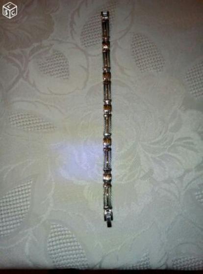 bracelet or et acier mailles tressées - Annonce gratuite marche.fr