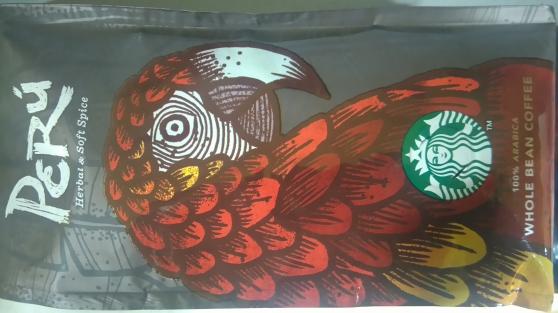 Café Starbuck's Perú 26 x 250g