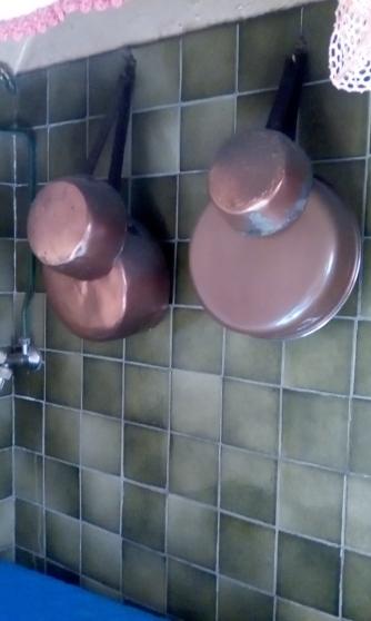 lot de casseroles cuivre - Annonce gratuite marche.fr