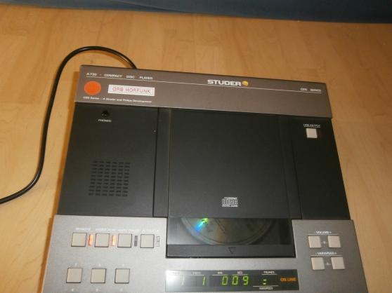 Studer A 730 CD Player Rare - Photo 2
