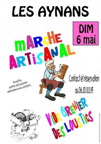 marché artisanal et vide grenier - Annonce gratuite marche.fr
