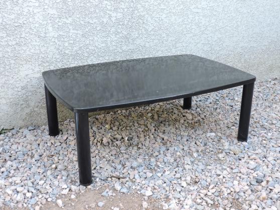 Annonce occasion, vente ou achat 'table basse rectangulaire noire'