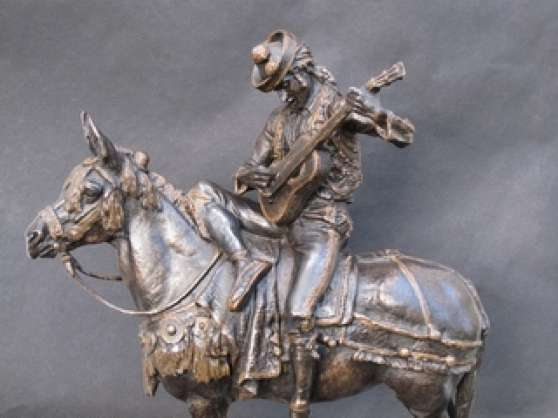 Muletier espagnol-Sculpture. Fremiet