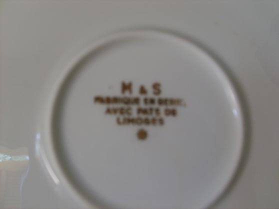 Annonce occasion, vente ou achat 'service en porcelaine'