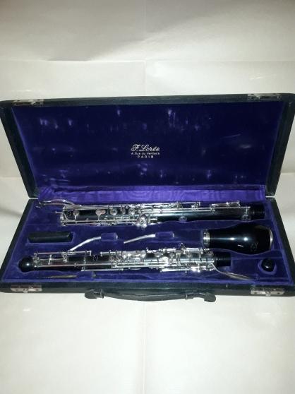 Annonce occasion, vente ou achat 'Instrument à vent vintage hautbois D\'Amo'