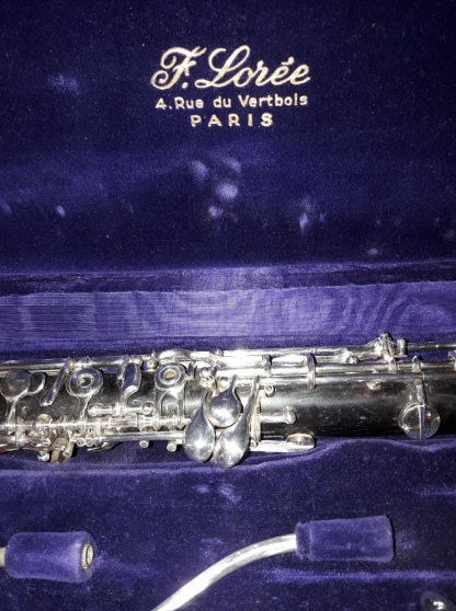Instrument à vent vintage hautbois D\'Amo - Photo 2