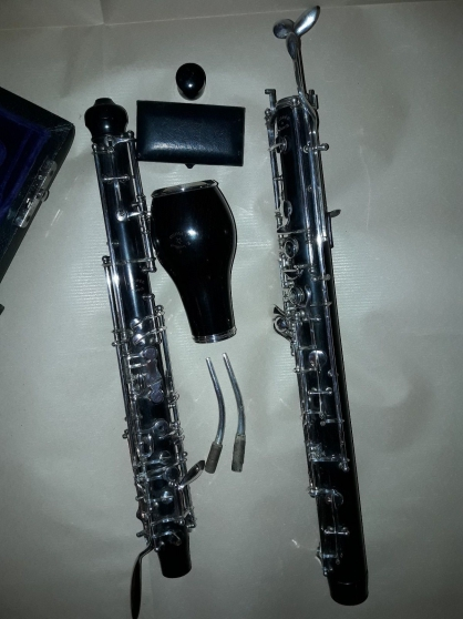 Instrument à vent vintage hautbois D\'Amo - Photo 3