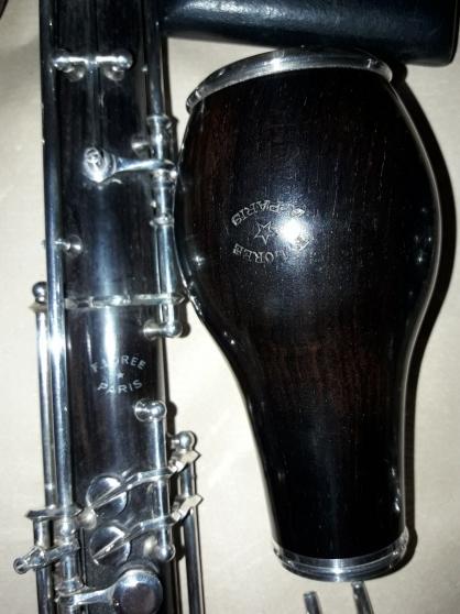 Instrument à vent vintage hautbois D\'Amo - Photo 4