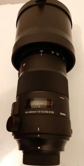 Annonce occasion, vente ou achat 'SIGMA SPORTS 150-600 mm F5-6.3 DG OS HSM'