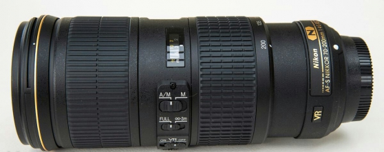 Annonce occasion, vente ou achat 'Objecti Nikon 70-200 mm F/4 AF-S G ED VR'