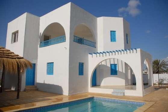 Villa à vendre vue sur mer Djerba