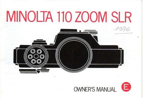 minolta 110 zoom - Annonce gratuite marche.fr