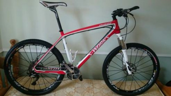 Specialized S-Works Stumpjumper carbone