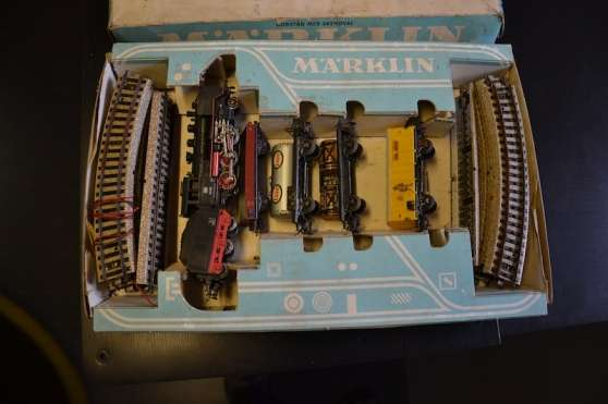 Coffret train marklin