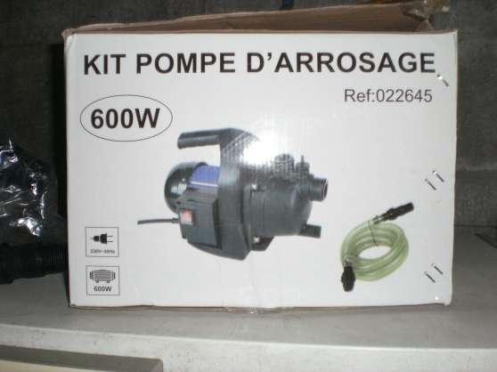 pompe a eau électrque