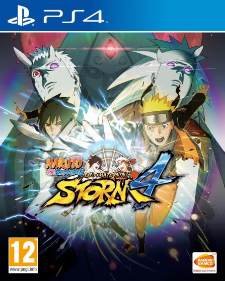 Jeux play 4 naruto ultimate storn 4 +evi