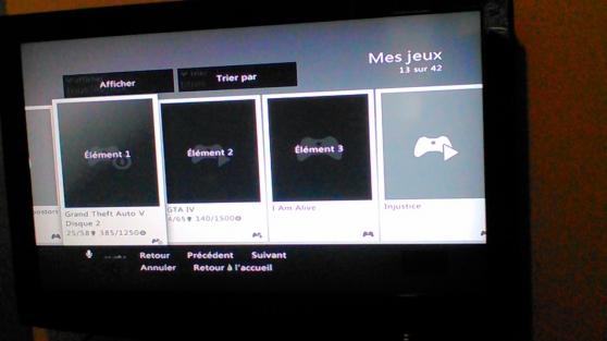 Annonce occasion, vente ou achat 'Xbox 360 avec 40 jeux et kinet et charge'