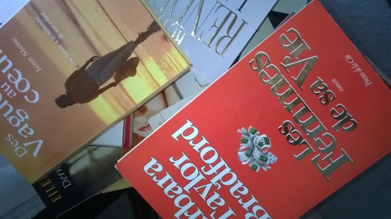 Annonce occasion, vente ou achat 'lots de romans contemporains'