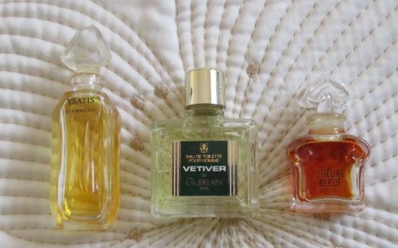 miniatures de parfum guerlain, givenchy - Annonce gratuite marche.fr