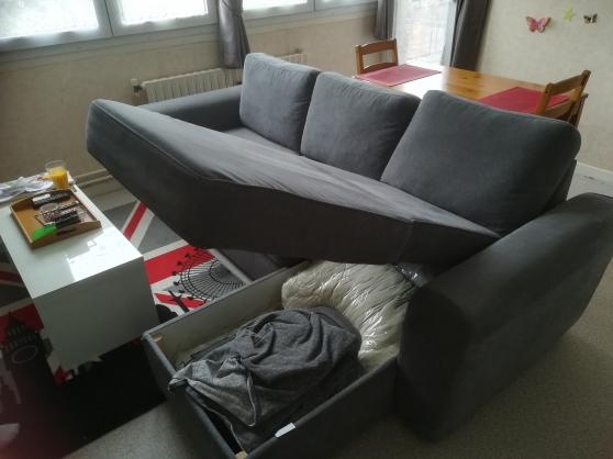 canapé lit meridienne - Photo 2