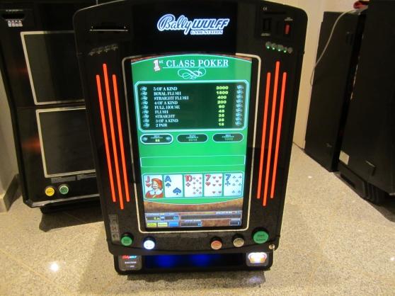 MACHINE A SOUS 12JEUX bally poker - Photo 2
