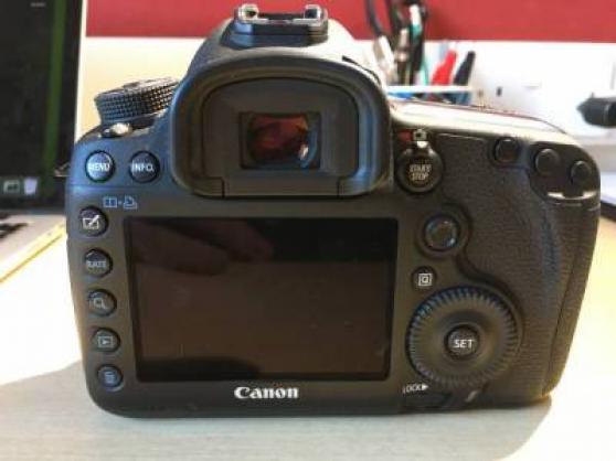 Canon 5D MIII avec objectif canon