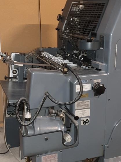 Annonce occasion, vente ou achat 'Machine press offset GTO'