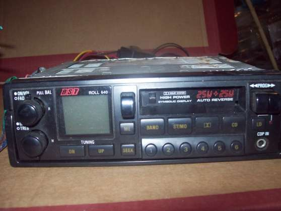 Radio cassétte ( autovérsé) power.