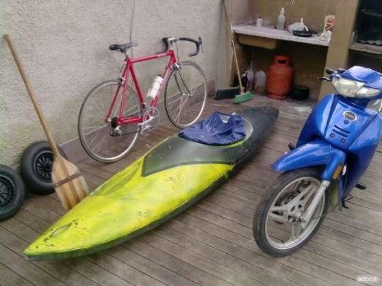 Mondial moto, kayak, vélos VTT